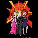 Poster image for cabaret bar.